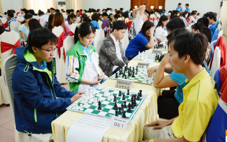 Bac Giang hosts national team chess championships 2016