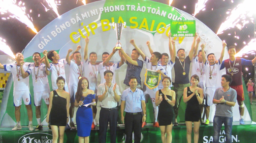 Quang Ninh football mini tour - Sai Gon Beer 2016 Cup wraps up