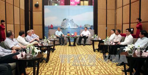 Romanian PM visits Quang Ninh province