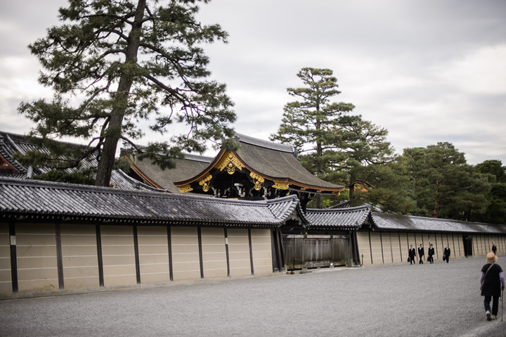 Contemplating Kyoto Imperial Palace