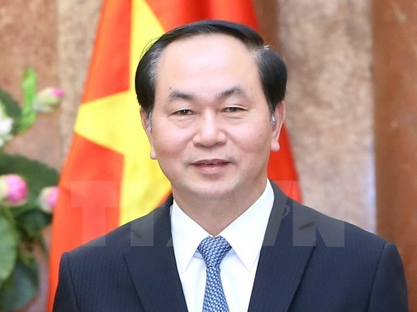 Vietnam-France defence cooperation to be reinforced: State President