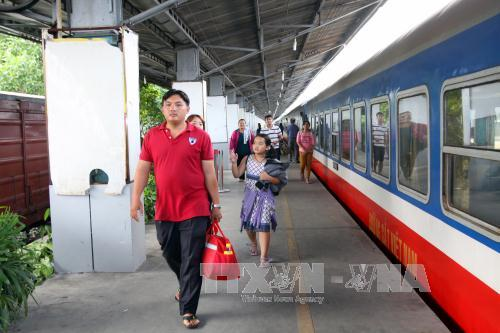 Ho Chi Minh stimulates railway tourism for National Day