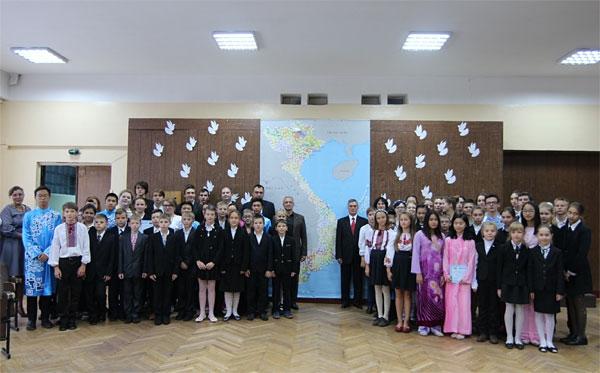 """Peaceful dove for Vietnam"" activity organized in Ukraine"