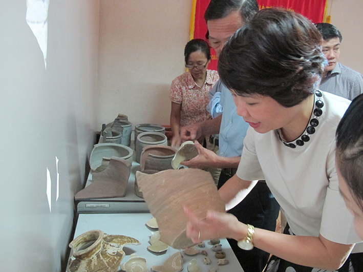 Over 26,000 artifacts on Cong Cai landing stage in Quang Ninh province