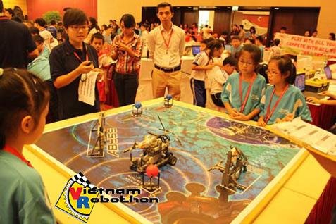 Annual Robotics Contest held for school kids