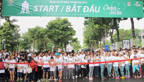 Over 13,000 people join charitable run