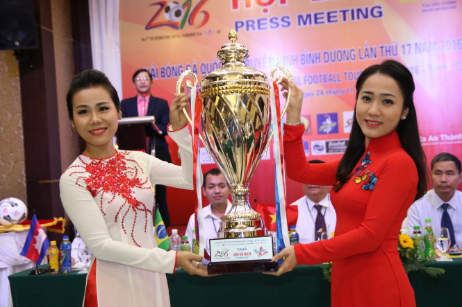 Binh Duong Television International Football Tournament to kick off