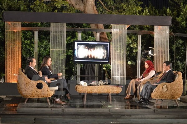 Egyptian TV channel airs live broadcast on Vietnam's culture