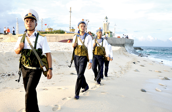 Spratly Islands in season of love