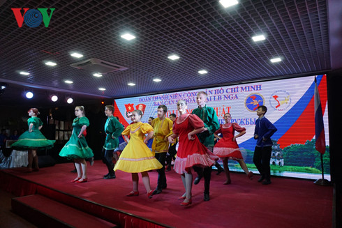 Art and cultural exchange between youth unions of Vietnam and Russia
