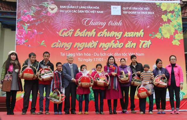 Over 1,000 gifts for people in remote areas