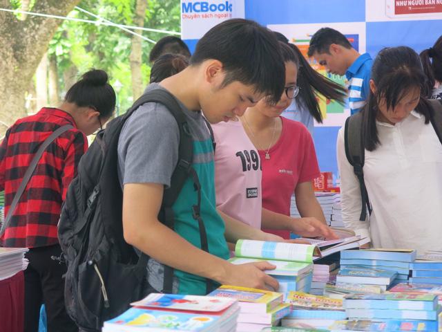 Spring book street for Tet 2017 in Hanoi