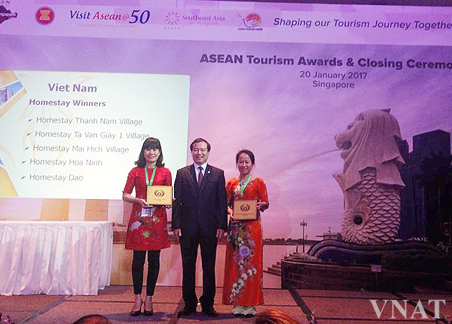 Vietnam wins eight awards at ATF 2017