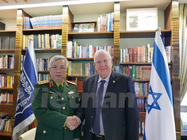 Israeli President voices support for stronger defence ties with Vietnam
