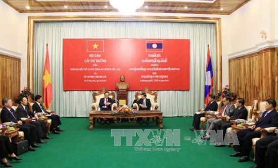 Vietnam and Laos increase public security cooperation