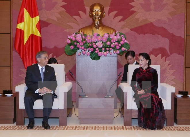 NA Chairwoman meets Governor of Japanese prefecture