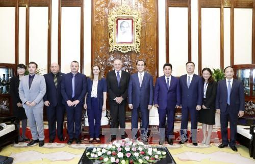 President calls for stronger hi-tech cooperation with Israel