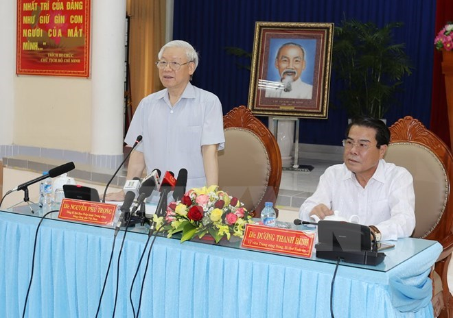 Party leader urges Ca Mau to develop sea and forest-based economy