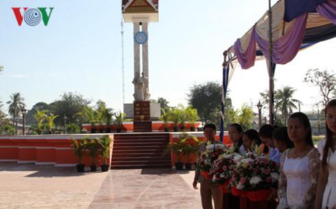 Vietnam-Cambodia friendship monument in Takeo restored