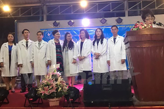 Vietnamese Physicians Association established in Cambodia