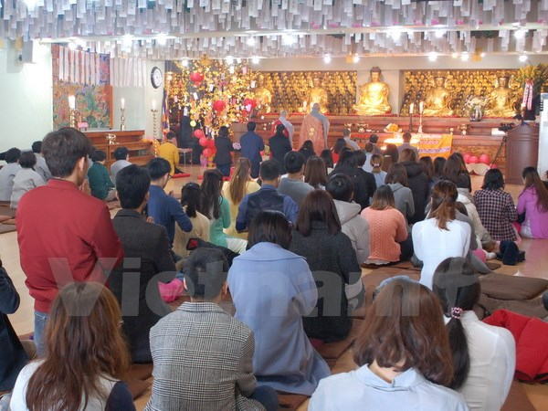 Vietnamese Buddhists in RoK pray for homeland's sea and islands