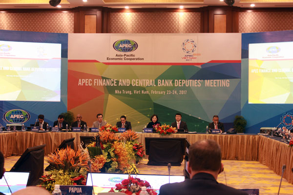 APEC Finance and Central Bank Deputies' Meeting focus on sharing experience on financial inclusion