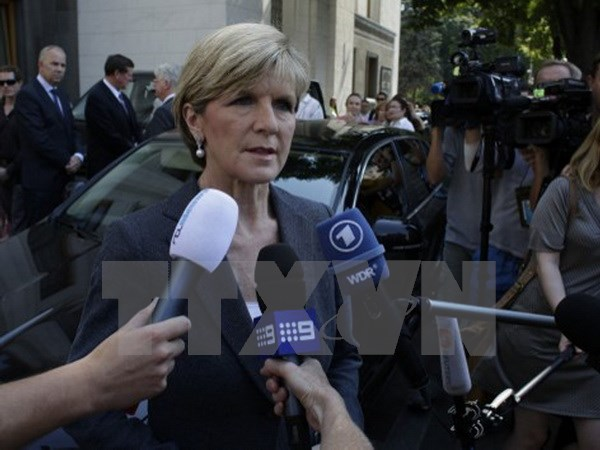 Australian Minister for Foreign Affairs Julie Bishop visits US