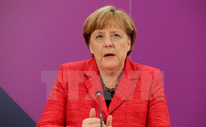 Angela Merkel picked as candidate for chancellor