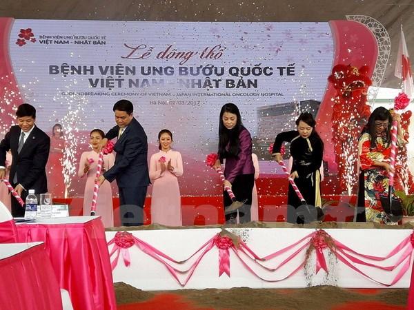 Hanoi builds Japan standard oncology hospital