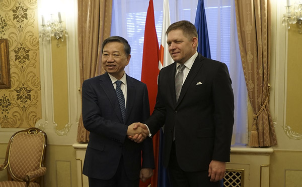 Vietnam, Slovakia increases cooperation in crime prevention