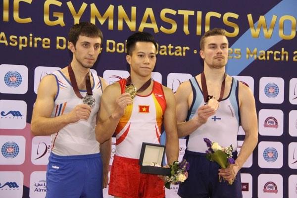 Vietnam pockets golds at gymnastics, taekwondo championships