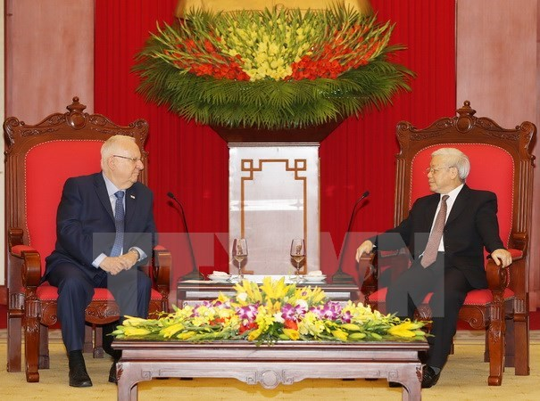 Party leader: Vietnam treasures multifaceted ties with Israel