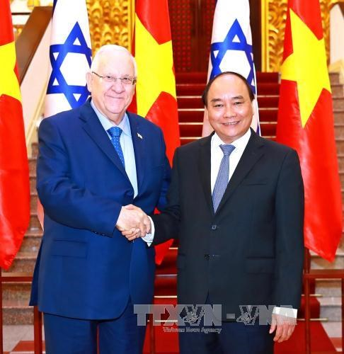 Israeli President wants to expand cooperation with Vietnam