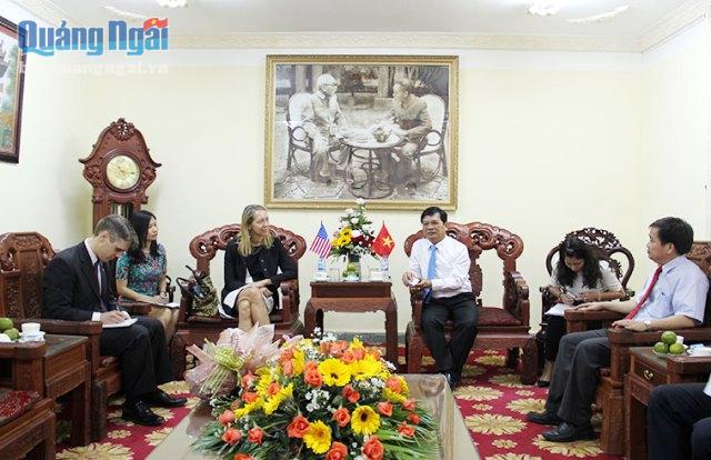 Quang Ngai province hopes to welcome US investors