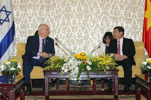 Israeli President visits Ho Chi Minh city