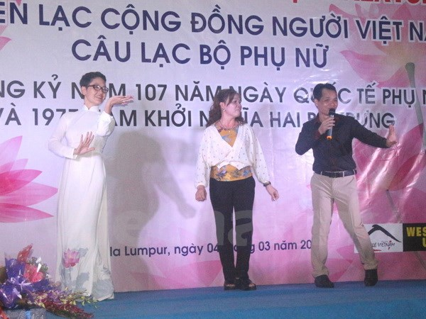 Vietnamese community in Malaysia marks International Women's Day