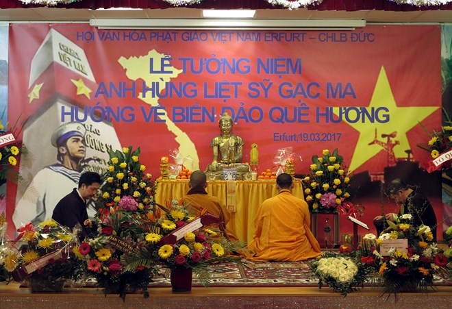 Vietnamese community in Germany organize requiem for heroic martyrs