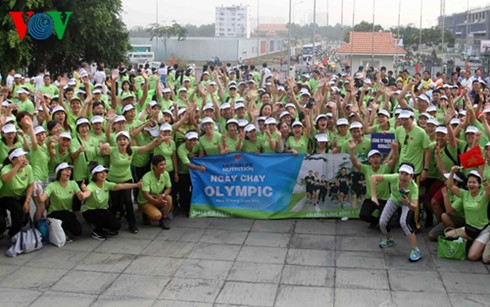 Over 40,000 people to participate in Olympic Day in Ho Chi Minh City