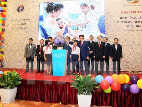 National vaccination management system launched