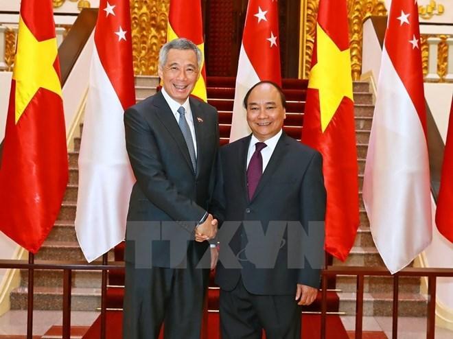 Singapore's Prime Minister wraps up Vietnam visit