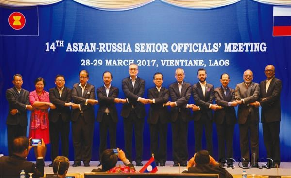 ASEAN, Russian senior officials meet in Vientiane