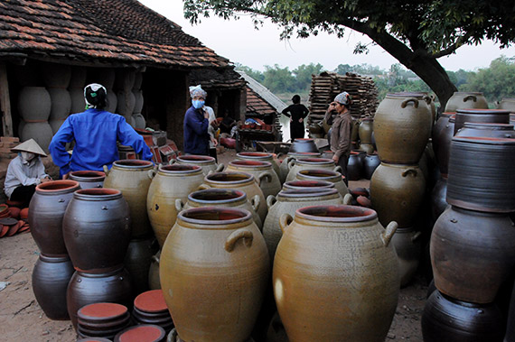 Phu Lang pottery village in northern province of Bac Ninh