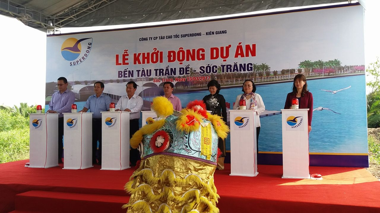 High-speed boat to connect Soc Trang to Con Dao