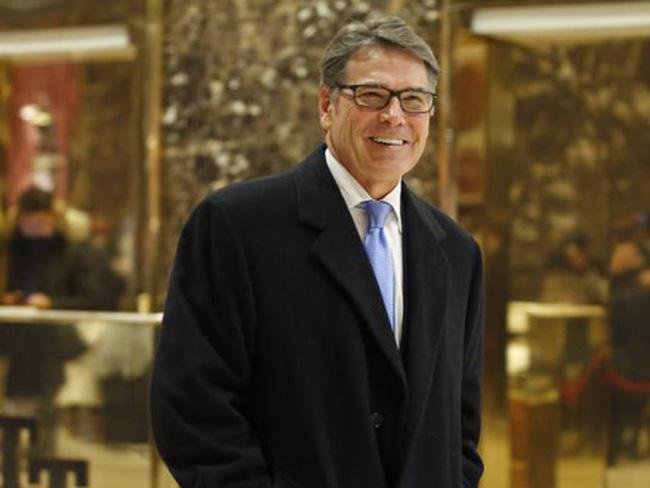 Rick Perry confirmed as US Energy Secretary