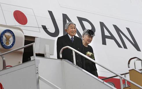 International new agencies reports Japanese King's visit to Vietnam