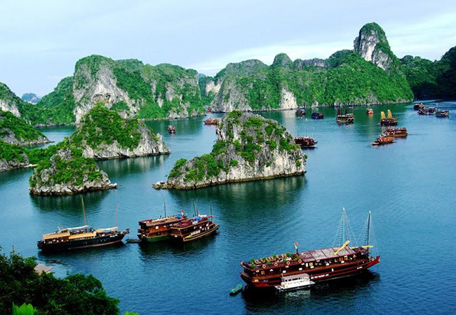 Free wi-fi to cover Ha Long bay