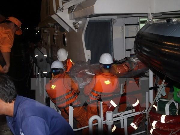 Bodies of nine crewmen of sunken Hai Thanh 26 ship found