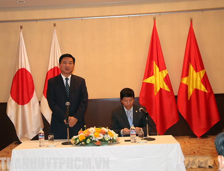 Ho Chi Minh city delegation visits Japan