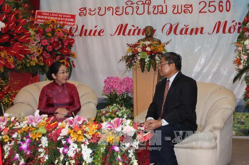 Ho Chi Minh city leader extends congratulations on Lao New Year