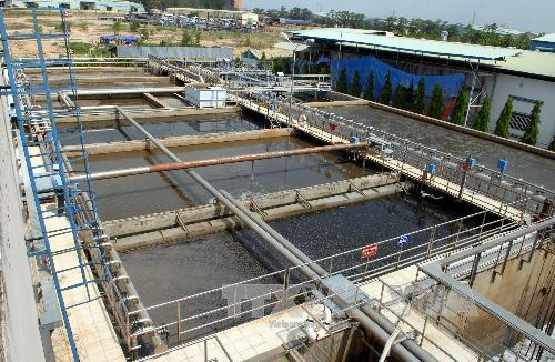 Dong Nai province: Industrial zones complete concentrated waste water treatment plants